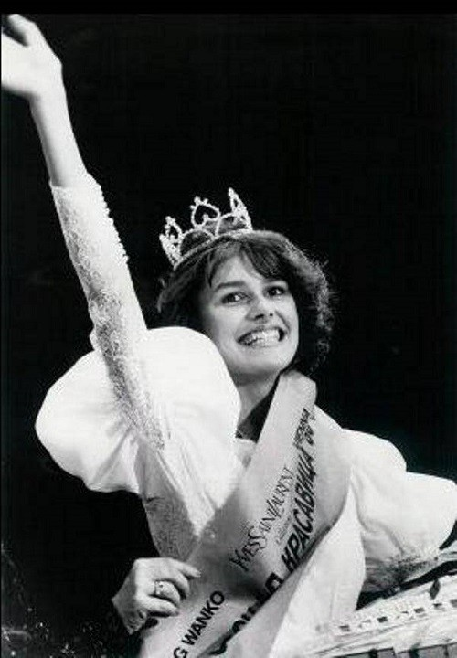 Masha Kalinina. USSR Beauty pageants