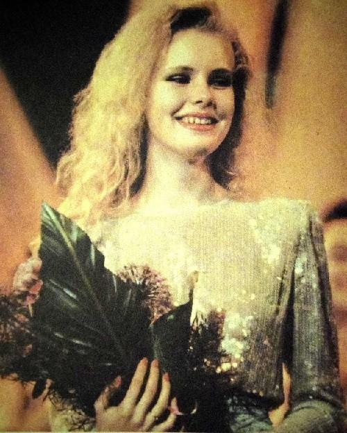 Miss USSR-90, 17-year-old fashion model Maria Kezha. USSR Beauty pageants