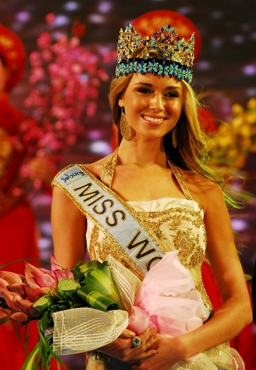 Miss World (in South Africa) - Kseniya Sukhinova