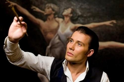 Russian artist Daniil Fedorov