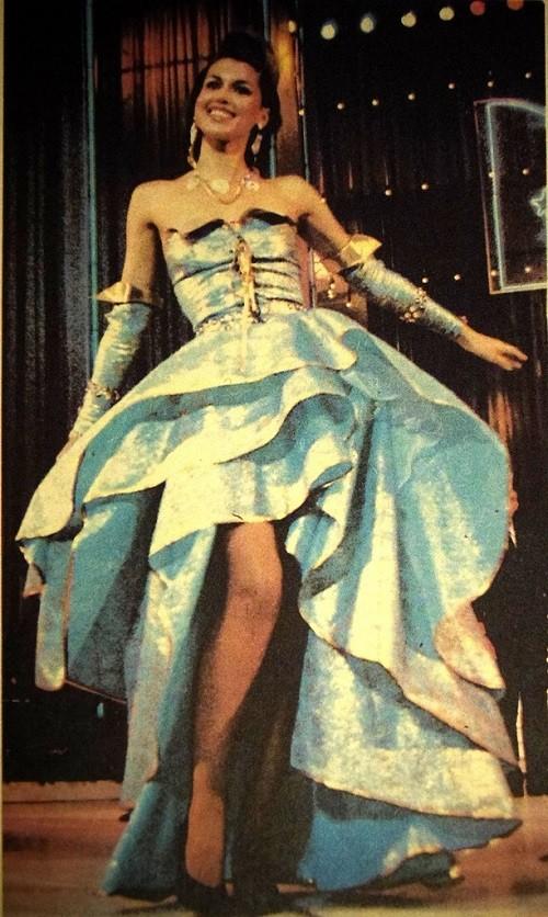 Mrs. Moscow-90.Elena Samonova. USSR Beauty pageants