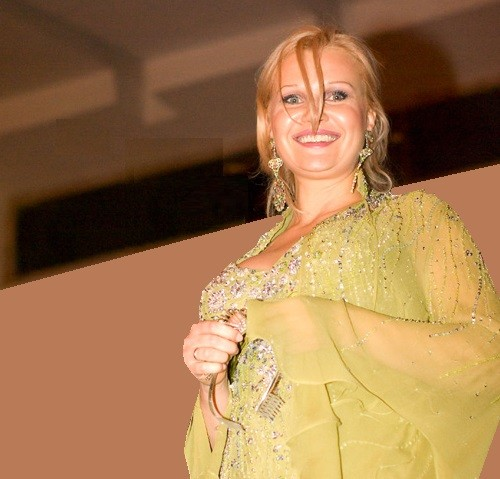 Mrs. USSR Natalia Alexanian from Zelenograd, photo of 2008. USSR Beauty pageants