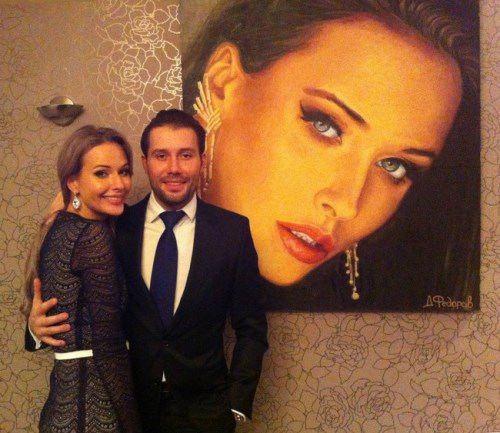 Natalia Pereverzeva and Russian artist Daniil Fedorov