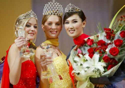 New Silk Road World Model - model contest (in China) - Vera Pimenova