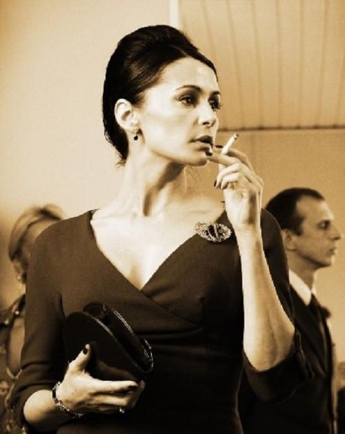 Oksana Fandera, in the film Red Pearl of Love (2008). USSR Beauty pageants