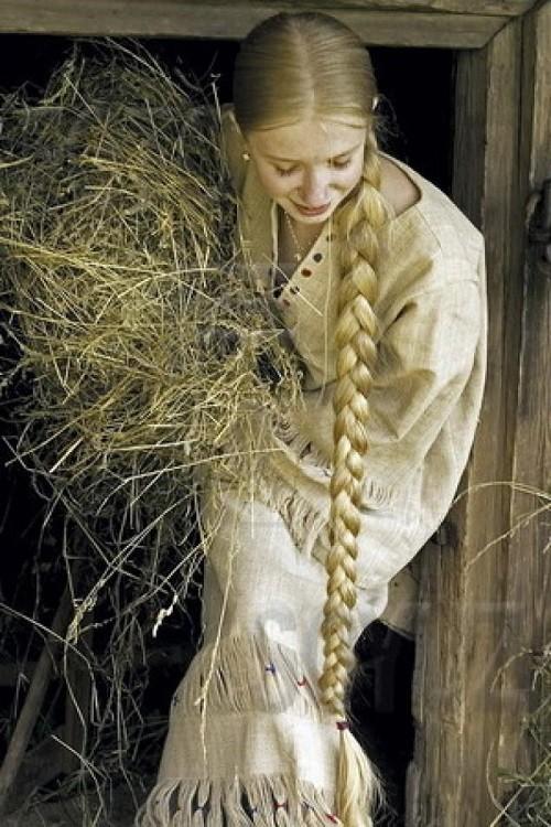 Russian beauty - maiden plait. USSR Beauty pageants