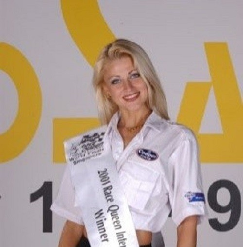 Russian winners of world beauty contests. Nelli Aksyonova