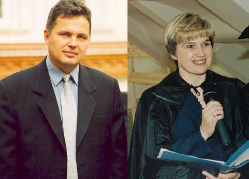Russian businessman Sergey Mamaev and his wife Tatiana Mamaeva