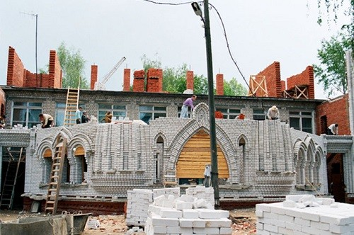School 'Ordinary Miracle' in Yoshkar-Ola is being built (archive photo)