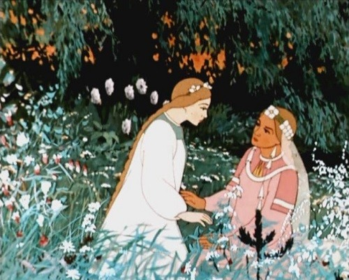 Soviet cartoon of 1952 Snowmaiden