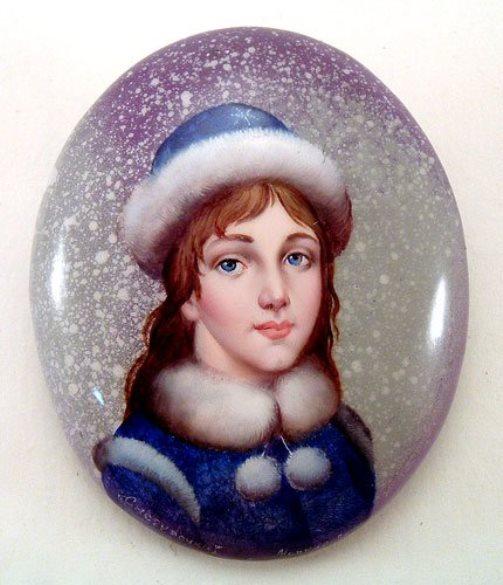 Snow Maiden. Fedoskino, 1998