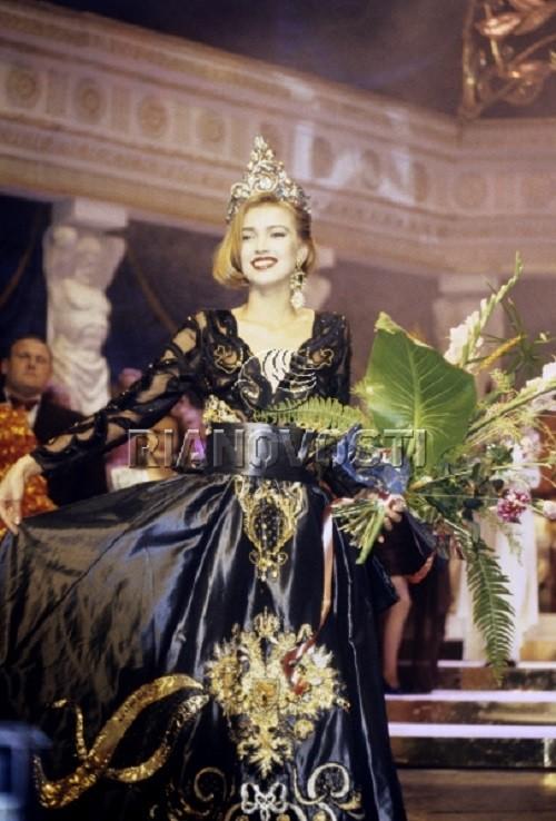 Svetlana Ovchinnikova, winner of beauty contest