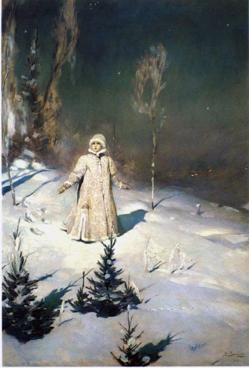 Viktor Vasnetsov (1848-1926). Snow Maiden. 1899