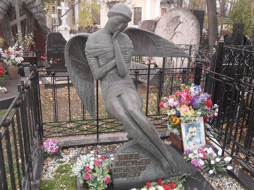 Grave, Vagankovo cemetery, Moscow