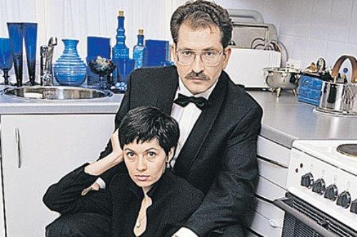 Vladislav Listyev and Albina Nazimova