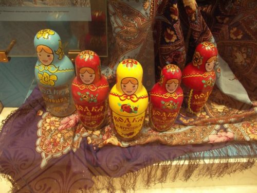 Vodka-Matryoshka, two in one