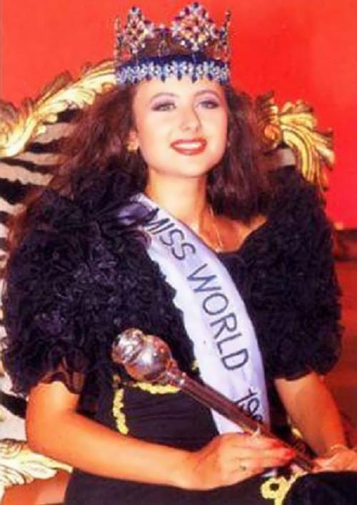 Yuliya Kurotchkina – Miss World 1992