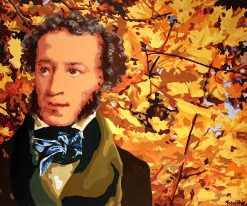 A. Pushkin. Painting by Daniil Fedorov