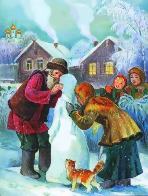 "Russian New Year fairy tale ""Snegurochka"""