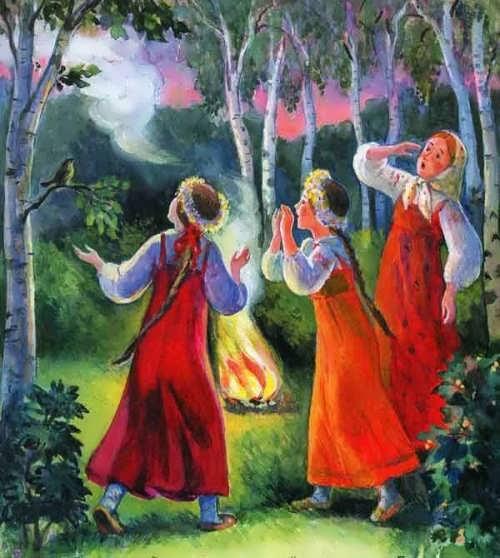 Russian New Year fairy tale