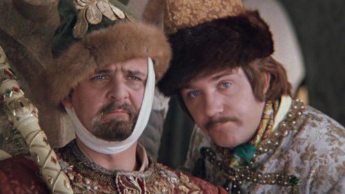 Russian actor Yury Yakovlev in 1973 comedy film