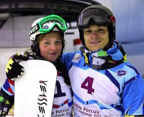 Alena Zavarzina and her husband Victor Wild - the leaders of the Russian national snowboard, now they are among the main contenders for medals in Sochi