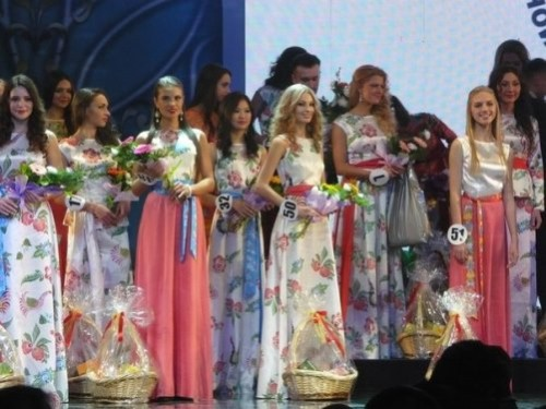 National beauty contest 'Beauty of Russia 2013'
