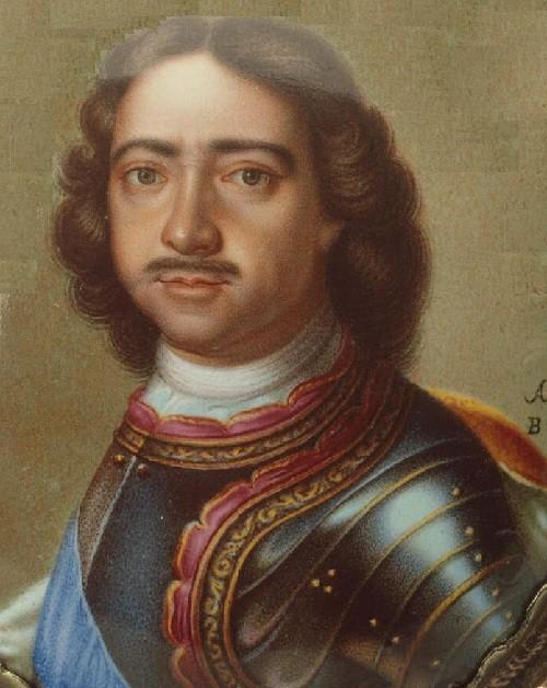 Andrew Grigorievich Ovsov. Peter I