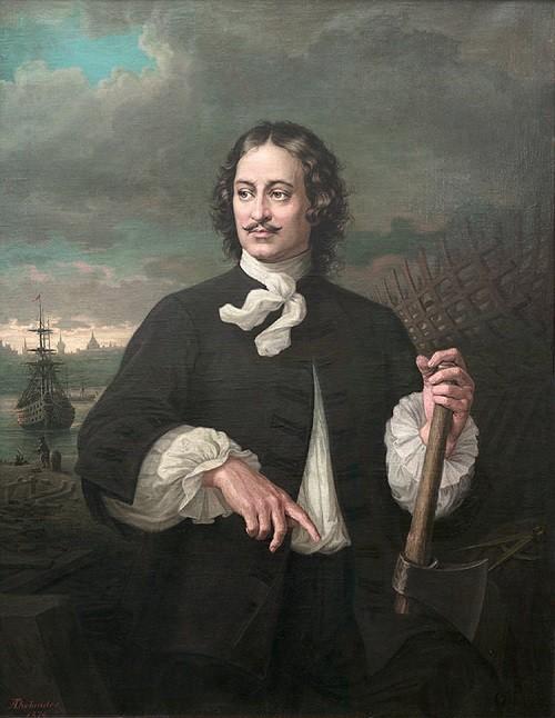 August Tolyander. Peter I.