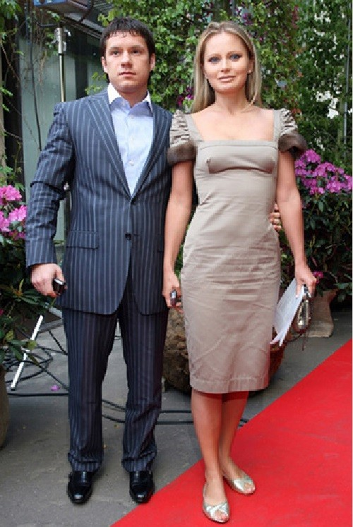 Dana's ex-boyfriend, Maxim Aksenov, is the father of Paulina