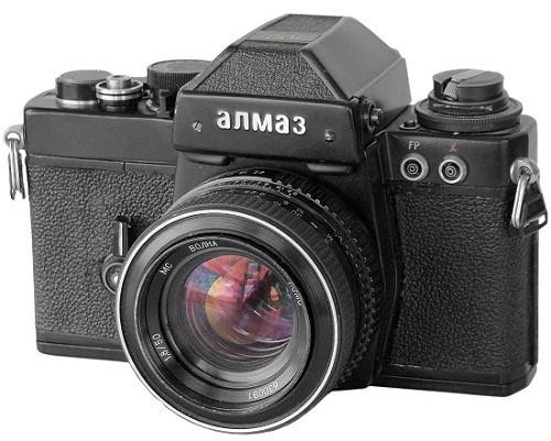 Made in USSR cameras. Diamond-103 (Almaz)