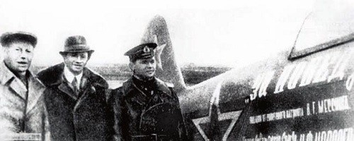 During World War II the magician Messing contributed two fighter aircrafts