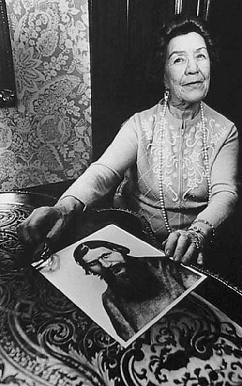 Favorite daughter of Grigori Rasputin Maria