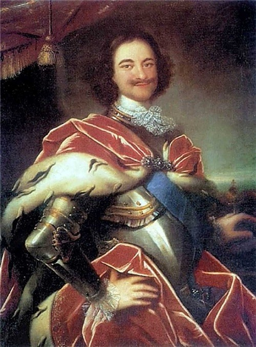 Peter the Great in paintings. Ivan Nikitich Nikitin. Peter I. 1717