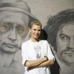 Russian artist Viktoria Tsarkova