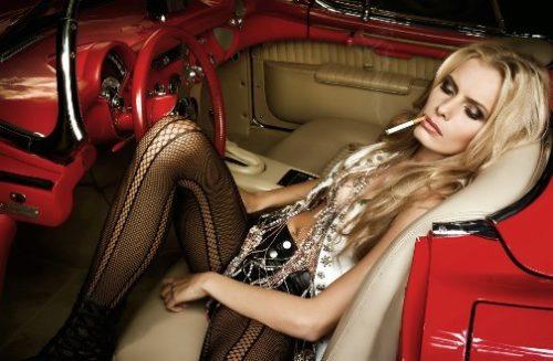 Jana Beller - Russian born German model