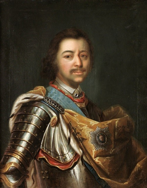 Johann Koprtzki. Peter the Great