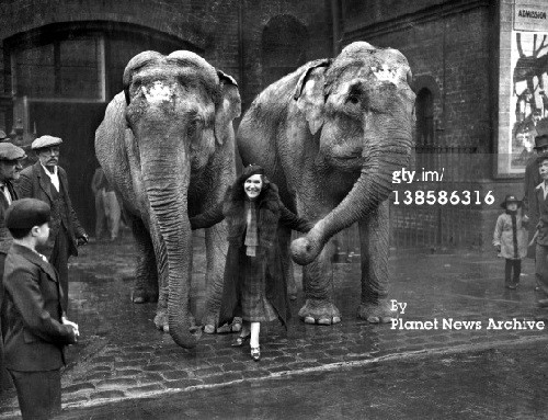 Maria Rasputin worked in several circuses in the United States