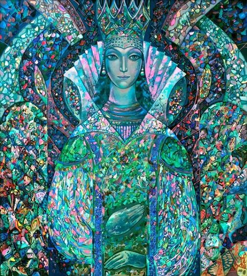Mistress of Copper Mountain. Artist Vyacheslav Nazaruk