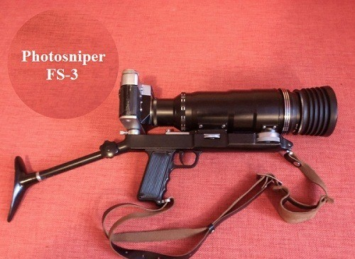 Made in USSR cameras. Photosniper FS-3