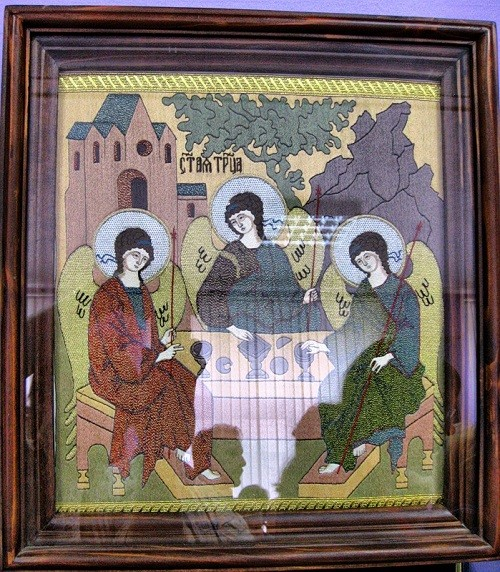 Saint Trinity. The museum of Gold embroidery school in Torzhok