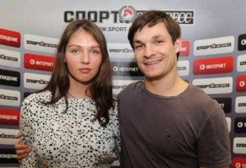 Snowboarders Vic Wild and his Russian wife Alena Zavarzina