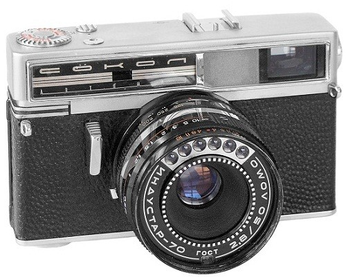 Made in USSR cameras. Sokol (Falcon Automat)