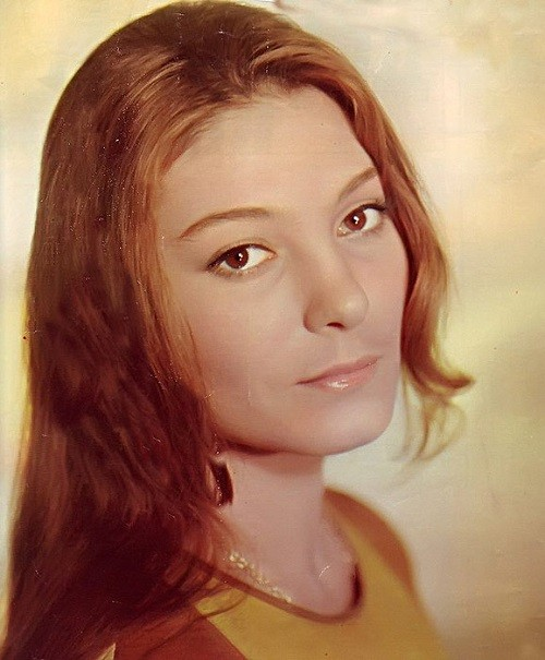 Soviet and Russian actress Natalya Bondarchuk, daughter of Sergei Bondarchuk and Inna Makarova