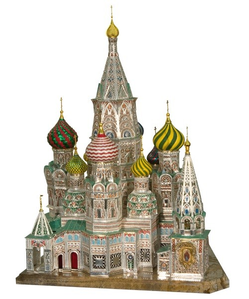 St. Basil's cathedral (miniature)