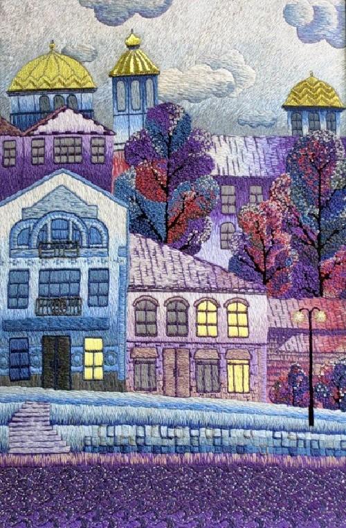 Torzhok. Gold embroidery school in Torzhok