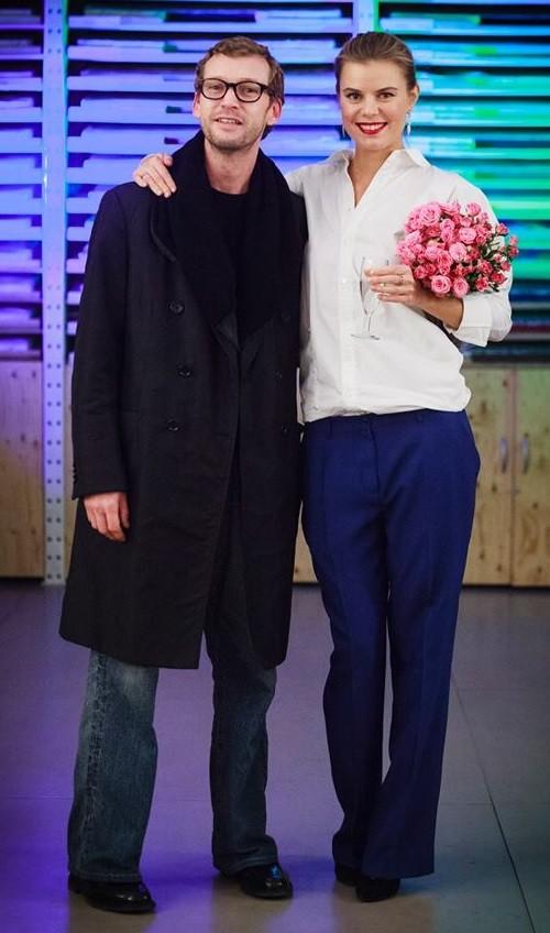Viktoria Tsarkova with Alexander Dobrotvorsky