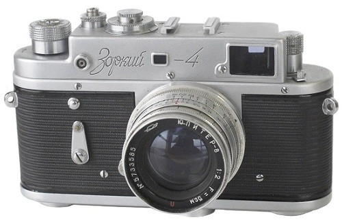 Made in USSR cameras. Zorki-4
