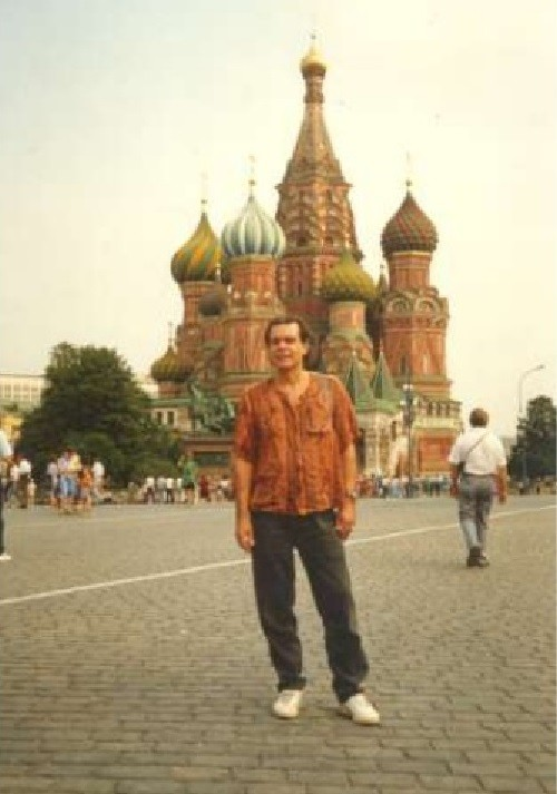Russian translator Pyotr Patrushev visited his native Soviet Union in 1990 for the first time in 28 years