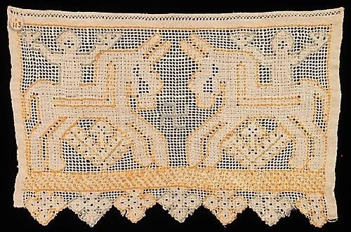 Textile. Swastika ancient symbol